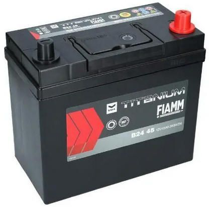 AKUMULATOR 12V-45AH 360A JAPAN P+ FIAMM BLACK B24 45